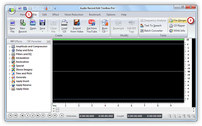 Activate File Merger Tool