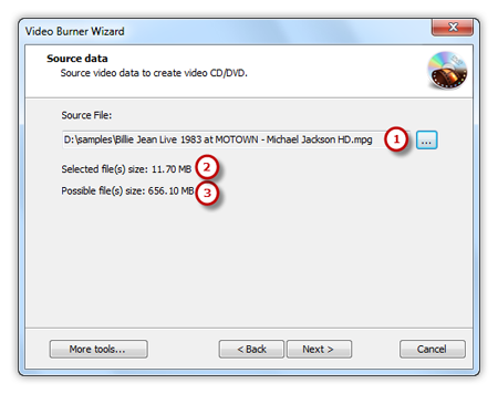 Add Source Video Files