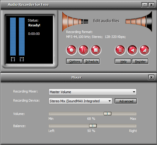 Audio Recorder for Free – Record audio from various sound